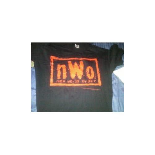 NWO Wolfpack Red & Black Extra Large Black T Shirt WWF, WWE, TNA, ECW