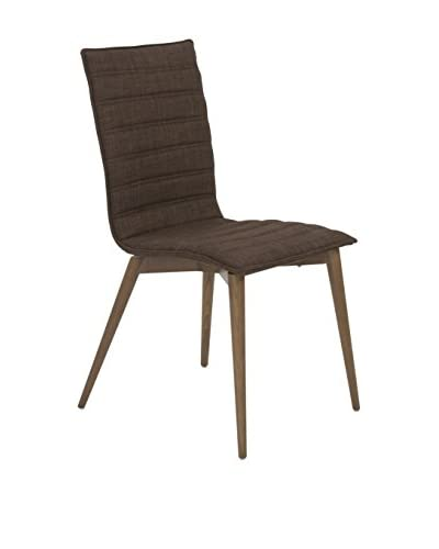 Euro Style Yoland Side Chair, Brown