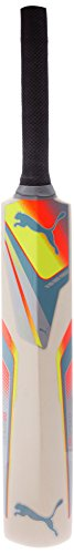 Puma Puma Evospeed Mini 14 Cricket Bat, Standard (Sharks Blue\/Fluro Peach\/Fluro Yellow) (Orange)