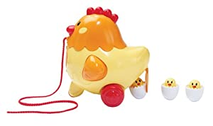 Kidoozie Henrietta Pull Along Hen