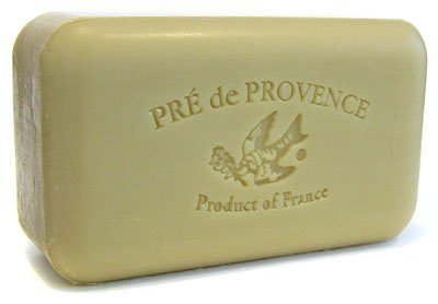 Pre de Provence Verbena Soap, 250g wrapped bar. Imported from France. With shea butter and natural herbs and scents.