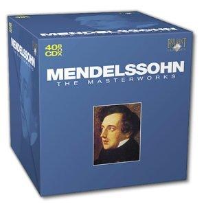 Les chef d'oeuvres de Mendelssohn en 40 CD