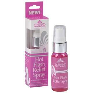 Clearly Natural Hot Flash Relief Spray, 1 Ounce (Pack 2)