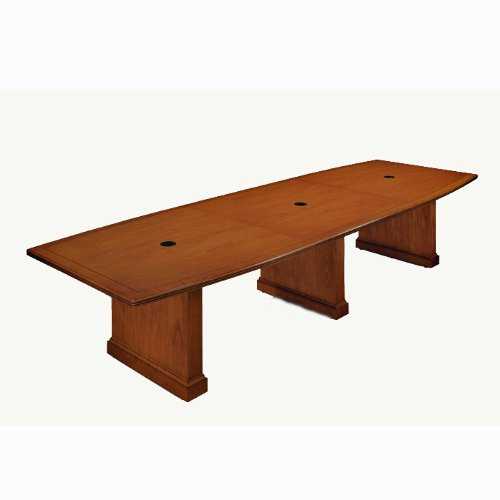Belmont Conference Table With Data Ports Executive Cherry - Cherry conference room table
