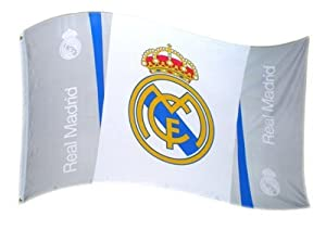 Amazon.com : Real Madrid - Official Crest 5ft x 3ft Flag : Soccer