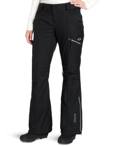 Oakley Women's GB Insulated Pant, Jet Black, X-Large