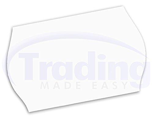 26 x 16mm / CT12 etiquettes blanches (10,000 etiquettes) (Price Gun Labels)