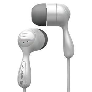 JLab JBuds Hi-Fi Noise-Reducing Ear Buds (White)