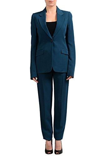 maison-margiela-4-pine-green-one-button-womens-pant-suit-us-m-it-42