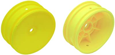 Team Associated 9691 Buggy Front Hex Wheel, Yellow
