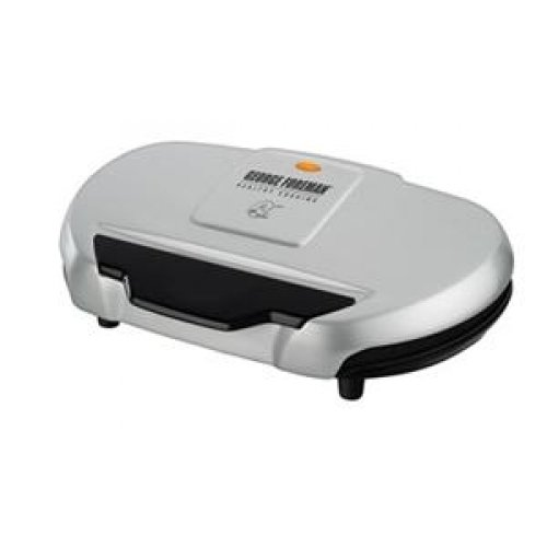 Applica George Foreman Silver 9-Serving Classic Plate Grill / Gr144 /