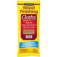 Minwax308200000Minwax Wood Stain & Finish Wipes-OAK WIPE STAIN CLOTH