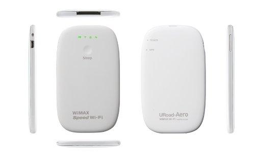 シンセイコーポレーション WiMAXデータ通信Wi-Fiモバイルルータ URoad-Aero ホワイト URoad-Aero(White) プロバイダーフリー