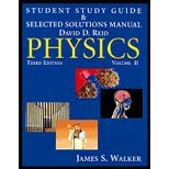 img - for Physics - Student Study Guide & Selected Solutions Manual, Volume 2 (3rd, 07) by [Paperback (2006)] book / textbook / text book