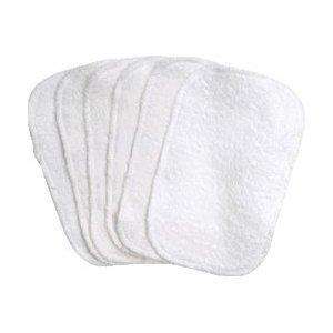 Imagen de En virtud de las toallitas del Nilo orgánicos para bebés de algodón - 6 Pack