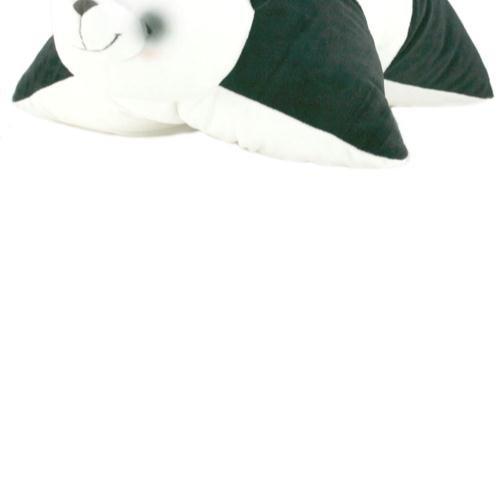 Forever Friends Bear-Panda di peluche, coperta e cuscino integrato
