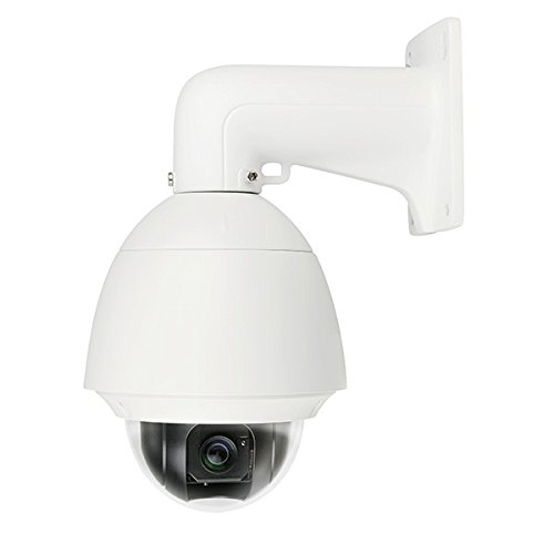 LTS Platinum 1.3MP 720p HD-TVI High Speed Dome PTZ Camera: 23x/16x Zoom, IP66, Heater, Wall Mount, Pelco P/D, 24v AC, OSD/UTC, 2yr
