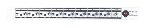 Phonic 1 Rack Unit 8-Channel Mixer PM-801