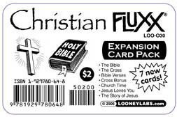 Christian Fluxx Expansion Card Pack