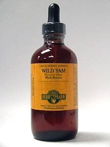 Herb Pharm Wild Yam Herbal Supplement Extract, 4 Ounce