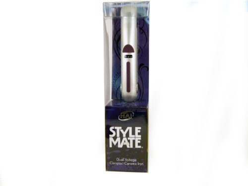Hai Stylemate Mini Travel Flat Iron - Purple, 1-Pound front-439135