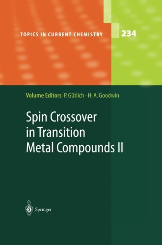 Spin Crossover in Transition Metal Compounds II (Topics in Current Chemistry)