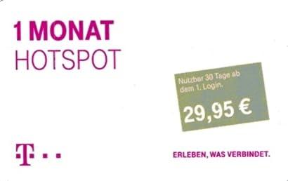 Telekom - Hotspot P - 1 Monat (Monatsp) - dxizkvsc-72 on