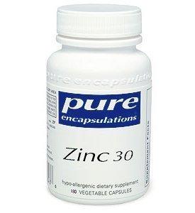 Pure Encapsulations - Zinc 30 - 180 [Health And Beauty]