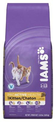 Iams Proactive Health Kitten Dry Food 5.7 Lb