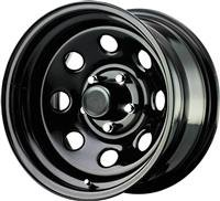 Procomp Steel Wheels 15X8 6-5.5 BLACK BSM 3.75 97-5883