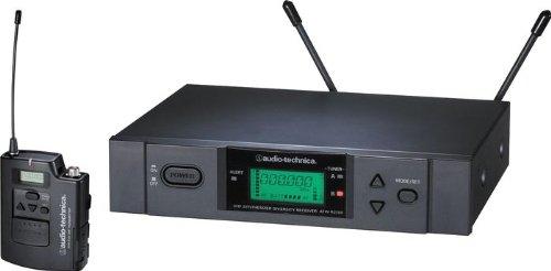 Audio Technica ATW 3110B UHF Wireless System – (Band C: 541.500 MHz to 566.375)