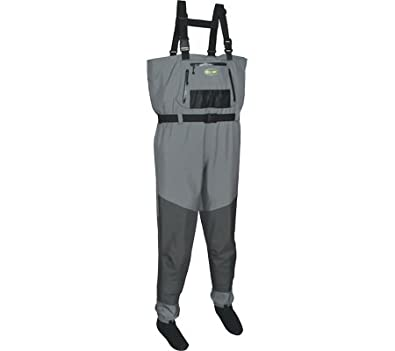 Pro Line Mens Silver Brook Waterproof Chest Waders by Proline