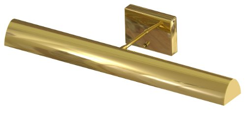Btled24-61 Traditional Led Battery Operated 3.2W 88-Lumen 3000K Picture Light, Polished Brass Finish