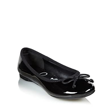 ... Girl's Black Patent Ballet Pumps: bluezoo: Amazon: Shoes  Bags