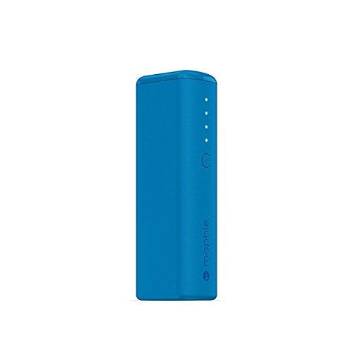 日本正規品・1年保証mophie power boost mini (最大出力1A 2600mAh モバイルバッテリー) ブルー MOP-BY-000140