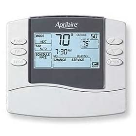 Aprilaire 8463 5/2 or 5/1/1 Day Programmable Thermostat