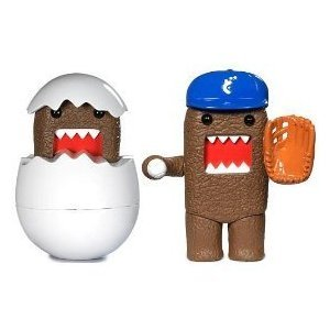 Buy Low Price Jakks Pacific Hatchling and Baseball Domo Plastic Figure Set (B001Z6I1Q8)