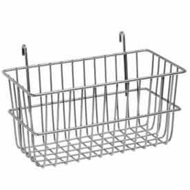 Lavi Industries 809328-CL Grid Wall Small Basket, Chrome евроконус icma 16 х 2 мм 3 4