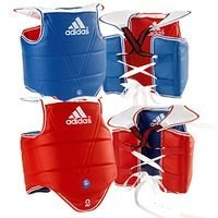 Adidas WTF TaeKwonDo Solid Reversible Chest Protector