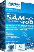 Jarrow Formulas SAM-e 400 à 400 mg - 30