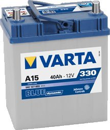 AUTO BATTERIE VARTA BLUE DYNAMIC 40 AH - 151.07.26