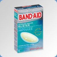 5550028 PT# 100448800 Pad First Aid Band-Aid Advanced Healing Blister 6/Bx Made by J&J грелка j & j