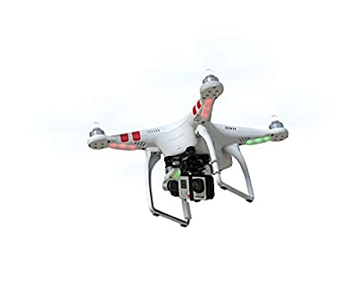 DJI Phantom 2 Vision+ Part 02 Camera + 3-axis Gimbal