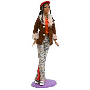 Barbie Fashion Fever - Kayla Doll with Brown Suede Jacket