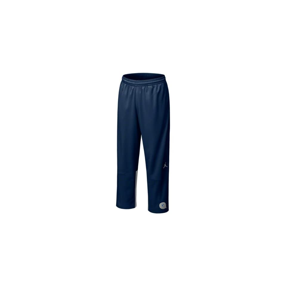 11e781f125a93c Georgetown Hoyas Jordan Navy Basketball On Court Game Warm Up Pants ...