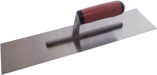 Am-Tech 16 x 4-inch Cement Trowel with Soft Grip