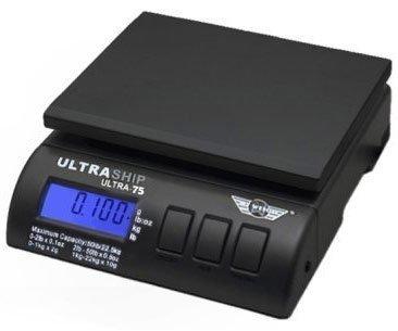Ultraship 75 Lb Electronic Digital Shipping Postal Kitchen Scale