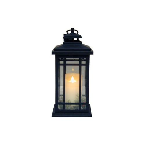 lights 100511002 battery operated luminara lantern outdoor lighting. Black Bedroom Furniture Sets. Home Design Ideas