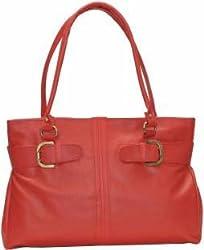 Glory Fashion Women's Stylish Handbag Red U-1
