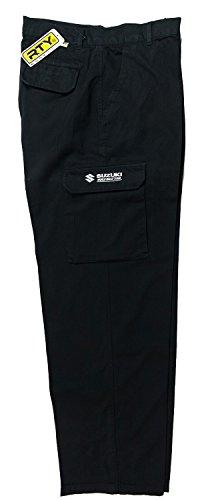 suzuki-pantalon-homme-noir-noir